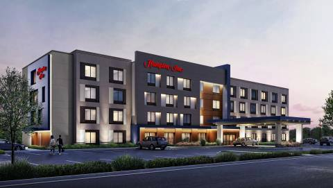 Hampton Inn - Commercial Electric Job - J. Hulick